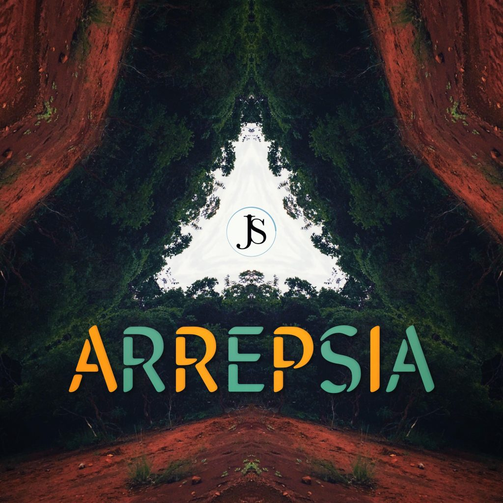 Capa do single Arrepsia por Julio Sardinha