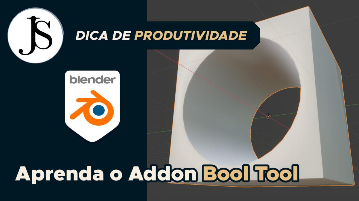 Aprenda o addon Bool Tool para Blender